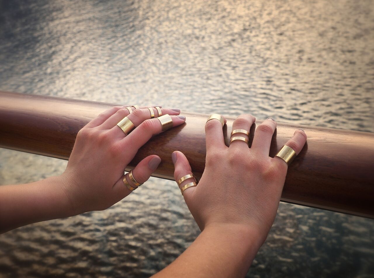 How to wear rings 47