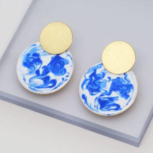 ball drop earrings