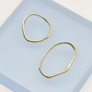 mismatched hoops