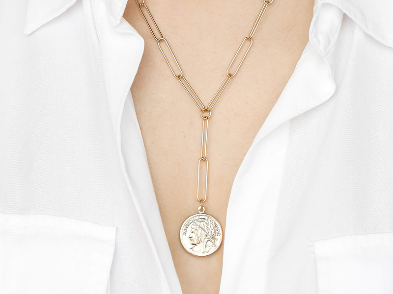 The Coin Necklace : Top fabulous ideas on how to style it