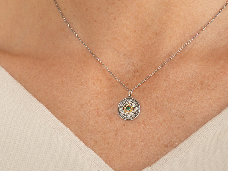 birthstone necklace may